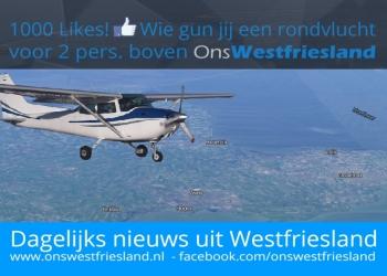 Wie gun jij een rondvlucht boven Westfriesland