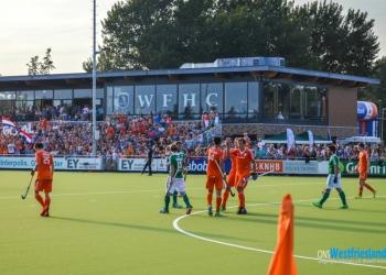 Heren Hockeyers winnen in Hoorn van Ierland [foto's]