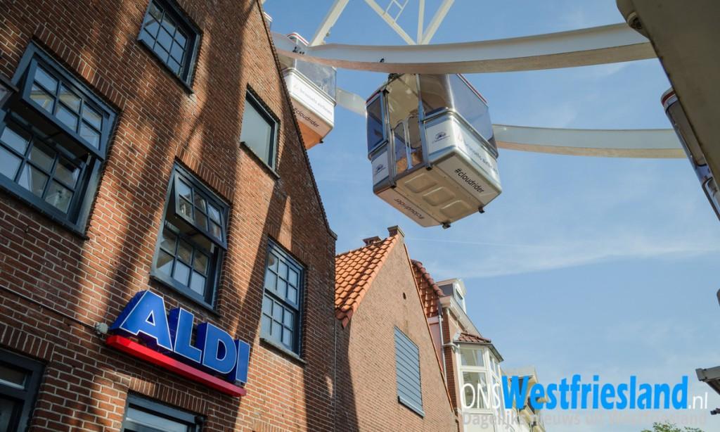 Reuzenrad Kermis Hoorn; Het past net [video]