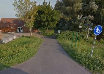 Toegangspad Julianapark te steil; tot zomer 2016 afgesloten