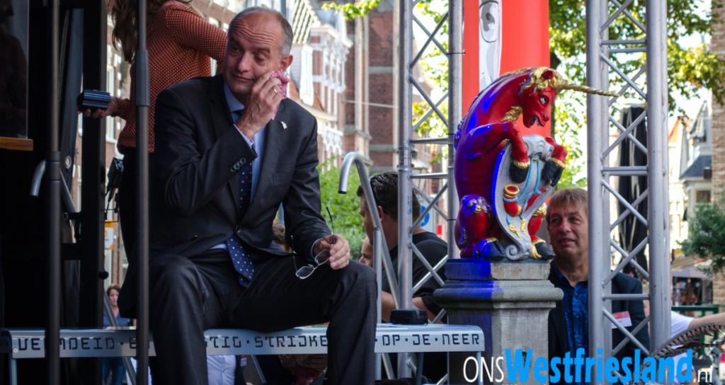 Afscheidstoespraak loco-burgemeester Nel Douw voor Onno van Veldhuizen