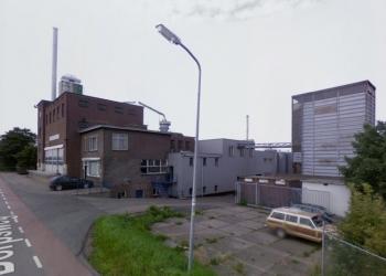 Grote brand pindafabriek Dorpsweg Oudendijk