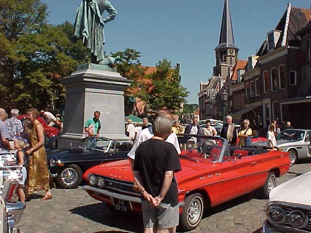 Hoorns Oldtimerspektakel tijdens Superkoopzondag op 30 augustus