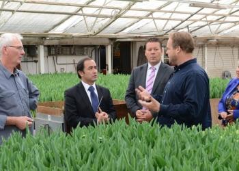 Chileense Handelsattaché op bezoek bij Westfriese bedrijven