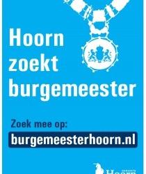 Bijeenkomst 'Hoorn zoekt burgemeester' afgelast