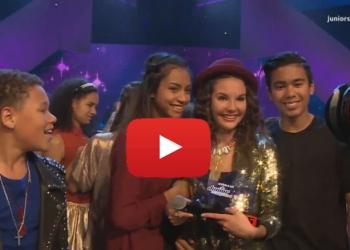 Shalissa (15) uit Wognum wint Junior Songfestival