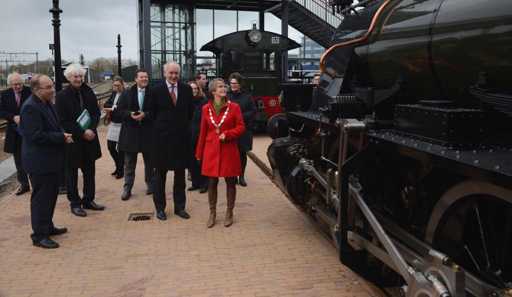 Commissaris van de Koning Remkes bezoekt Hoorn