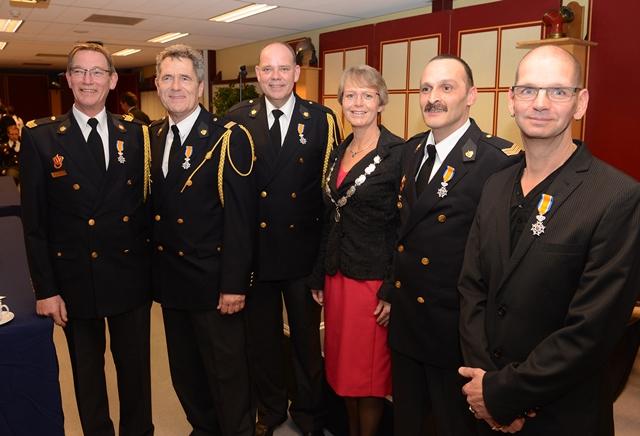 Onderscheiding voor Hoornse brandweerlieden