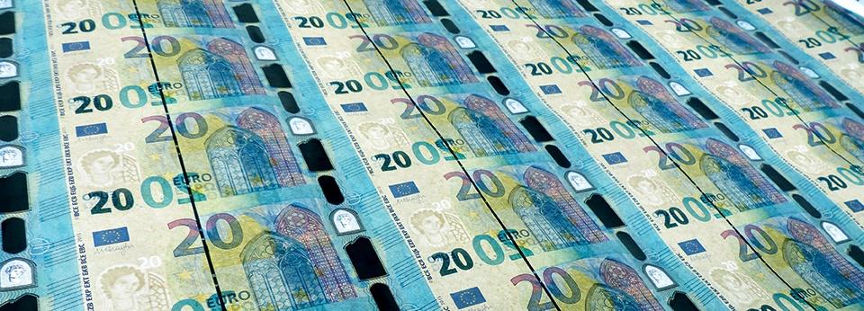 Vandaag nieuw 20 euro biljet in omloop