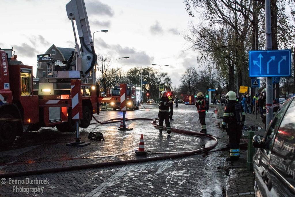 Hoorn: Mogelijk asbest vrijgekomen bij bestrijding van brand