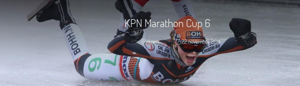 KPN Marathon Cup 6 bij De Westfries in Hoorn