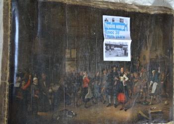 Westfriese roofkunst in Oekraïne, maar onbereikbaar