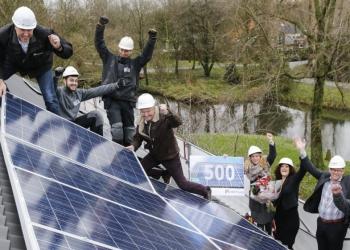 500 huurders wonen in energiezuinigere woning