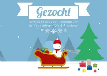 Kerstbomen in Westfriesland voor kinderen Voedselbank