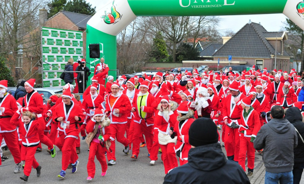 13 december vierde editie Santa Run Koggenland