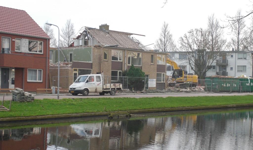 Bot Bouw verder met nieuwbouw Dirk Wierengastraat
