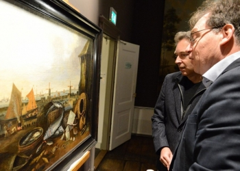 Collega geeft schilderij Withoos in bruikleen aan Westfries Museum