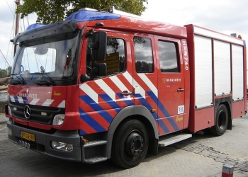 Grote brand bij appartementen Westfriese Hof in Hoorn (update)