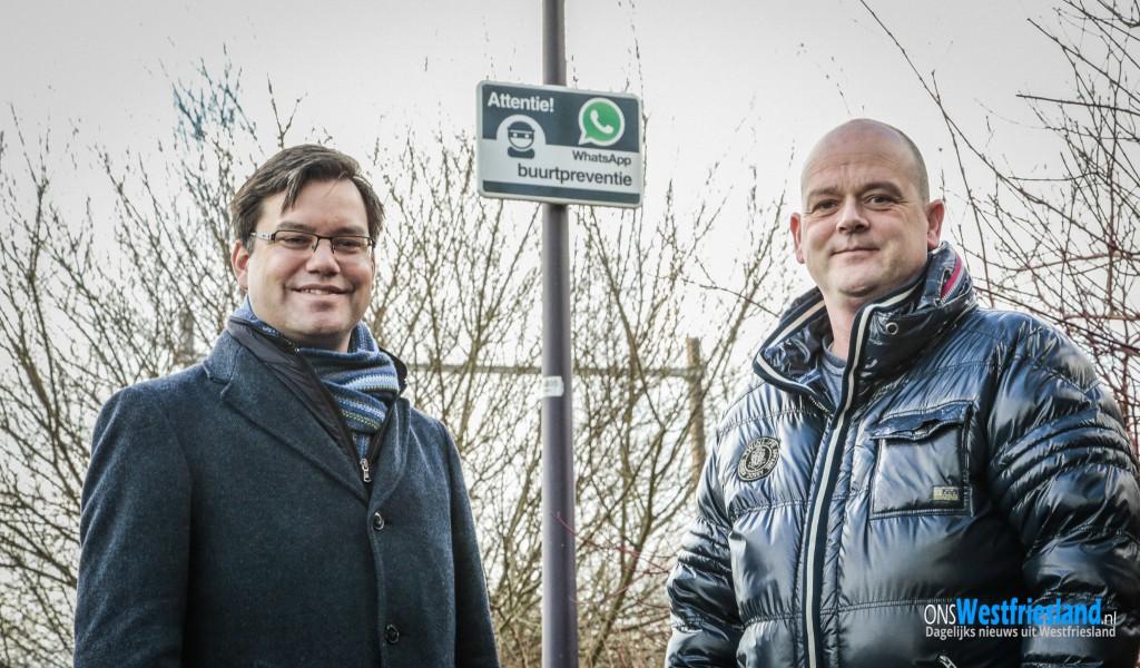 Hoorn plaatst WhatsApp buurtpreventieborden
