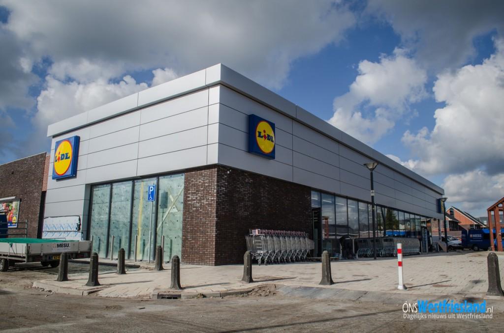 Woensdag 24 februari opening nieuwe Lidl in Wognum