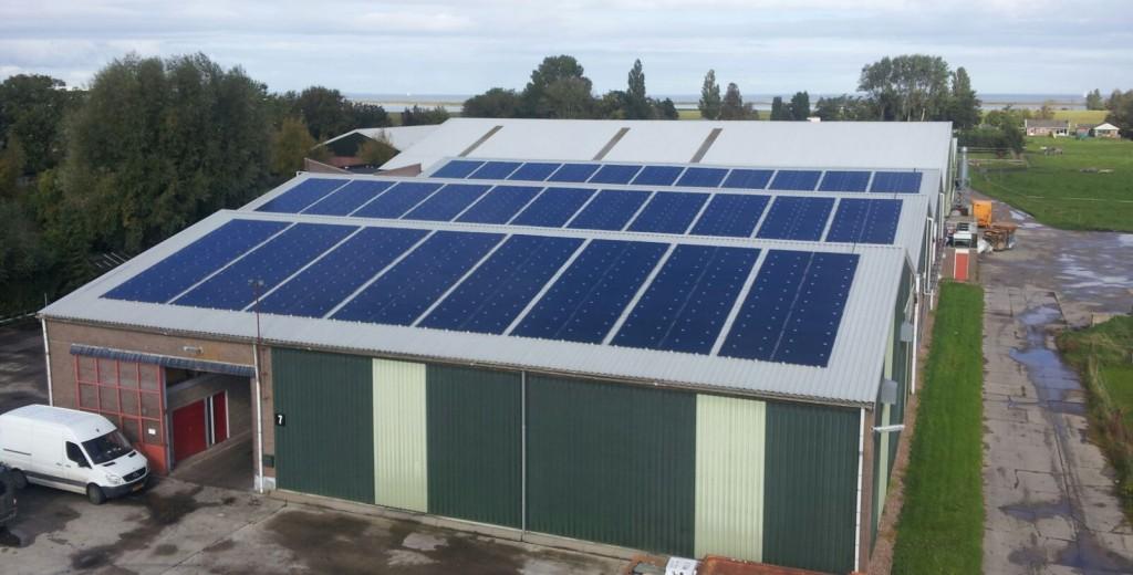 Zonnecentrale op het dak of op het land?