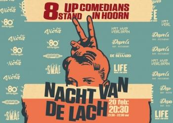 Nacht van de Lach in acht café's in Hoorn