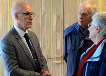 Verenigingen verenigen zich voor afscheid burgemeester Van der Riet