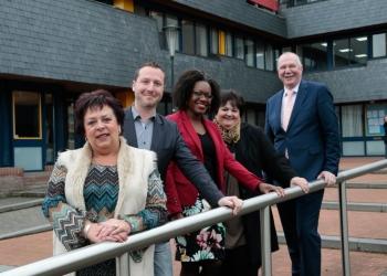 Docenten Zuid-Afrikaanse school op bezoek bij Werenfridus