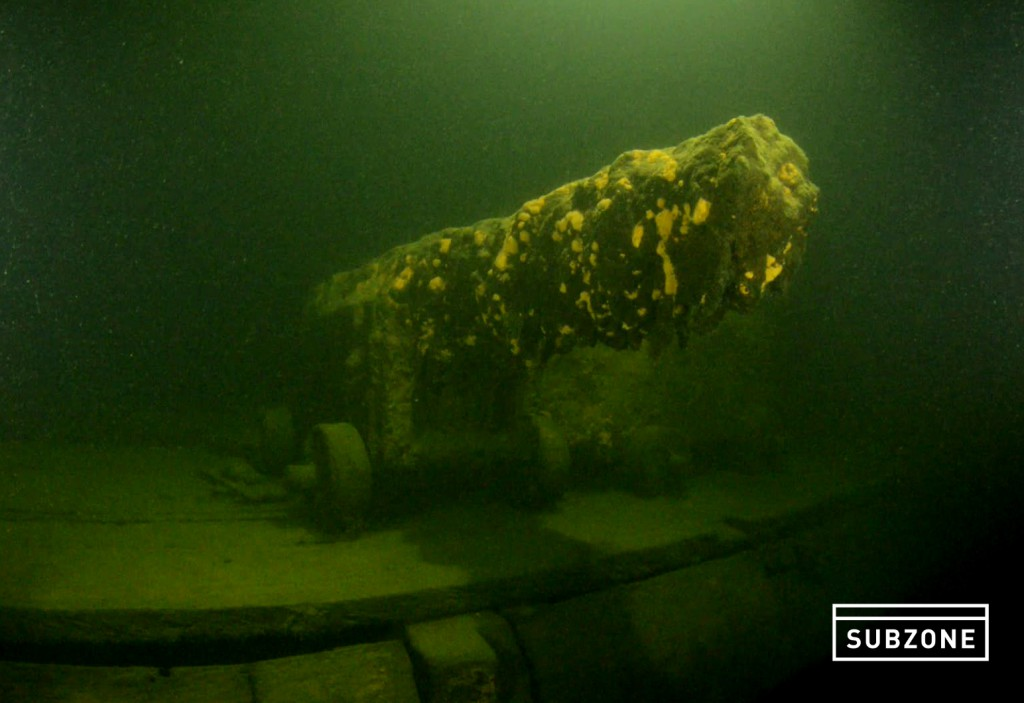 'Oorlogsschip bodem Finse Golf in 1708 in Medemblik gebouwd'