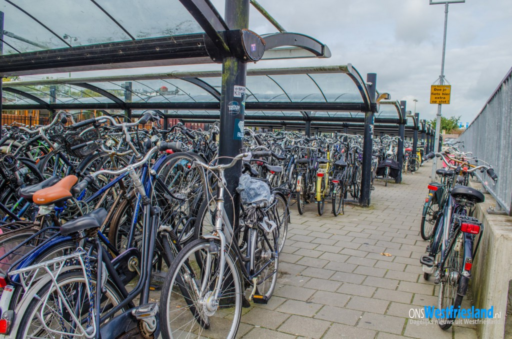 Binnenkort opschoonactie fietsen rondom NS Station Hoorn