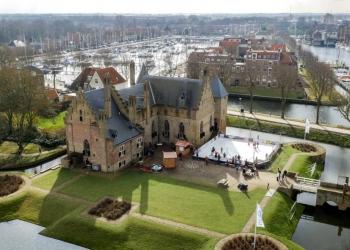 Extra weekje 'Schaatsen op het Plein' bij kasteel Radboud