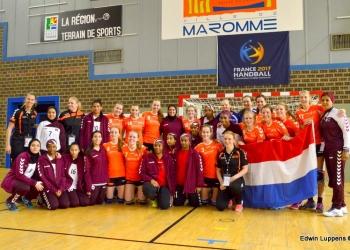 WK Scholenhandbal Blog 2: Nederland – Qatar