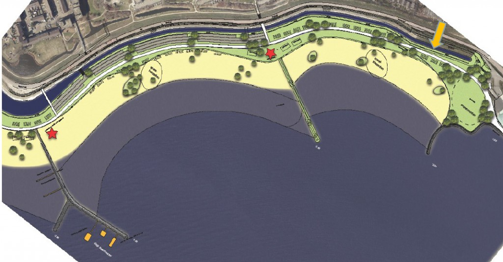 370 permanente parkeerplaatsen voor stadsstrand Hoorn
