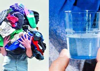 'Zacht water uit de kraan, met wasmiddel zuinig aan'