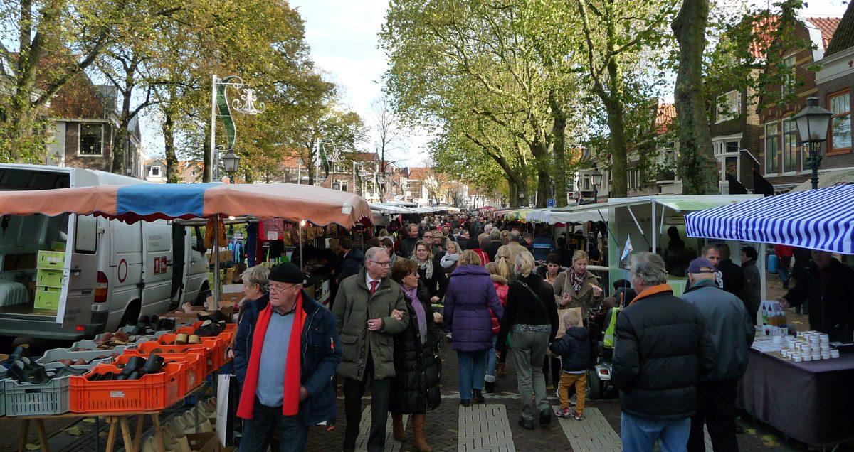 200 kramen op voorjaarsmarkt in Hoorn