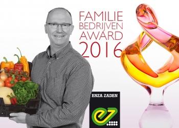 Enza Zaden wint Familiebedrijven Award 2016