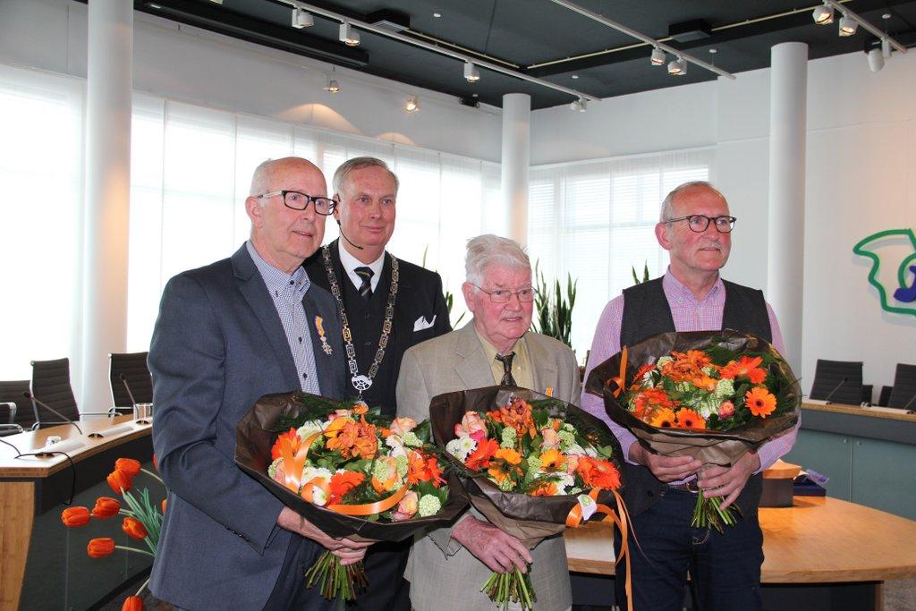 Vier Koninklijke onderscheiden voor inwoners Koggenland