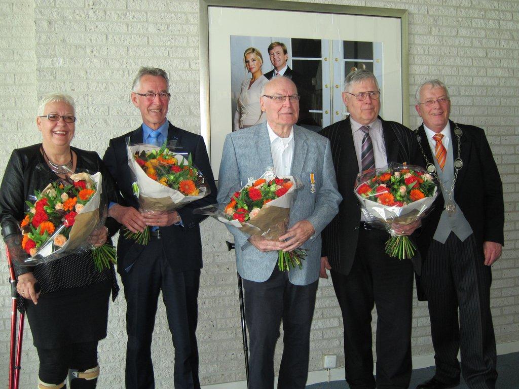 Vier onderscheidingen in Opmeer en één in Schagen