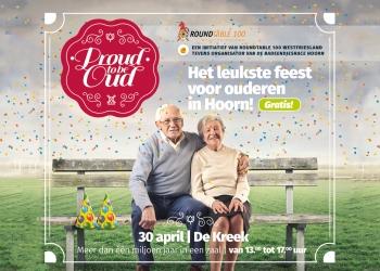 Proud to be Oud: Het leukste feest voor ouderen in Hoorn!