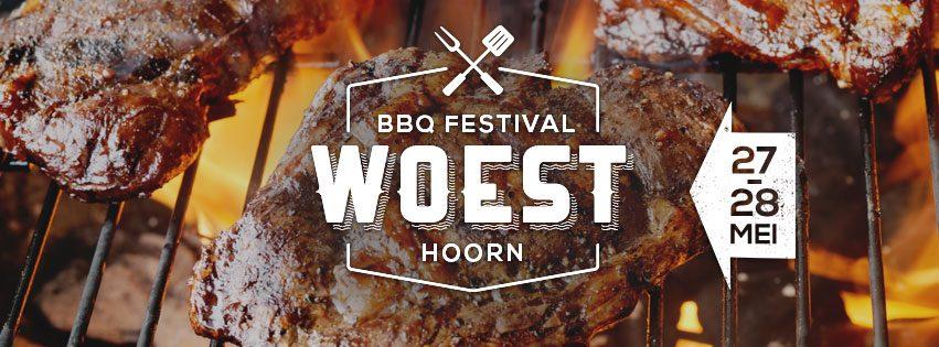 BBQ-Festival Woest op het Philipsterrein in Hoorn