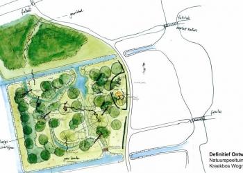 Aanleg natuurspeeltuin Kreekbos start vanaf juli