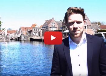 Swim to Fight Cancer in historische havens van Hoorn