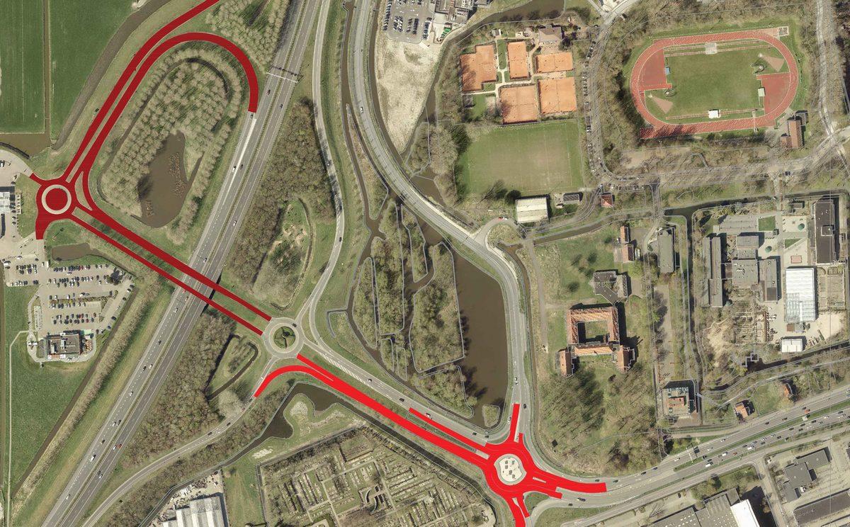 Weekend vol verkeershinder van en naar A7 via Provincialeweg