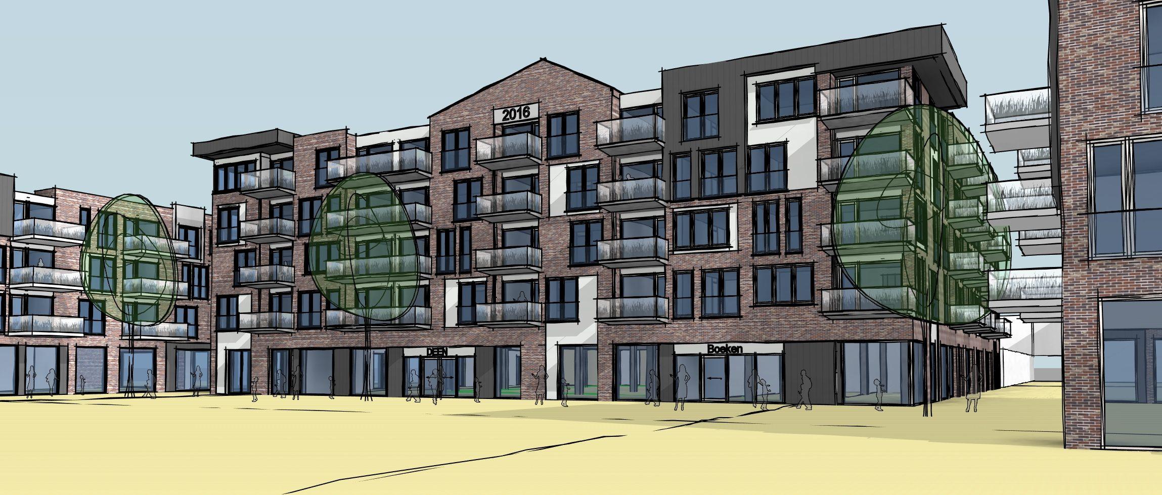 Groen licht voor bouw winkelcentrum Bangert en Oosterpolder Zwaag