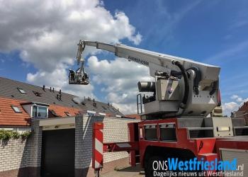 Binnenbrand woning Robert Stolzhof in Hoorn (update)