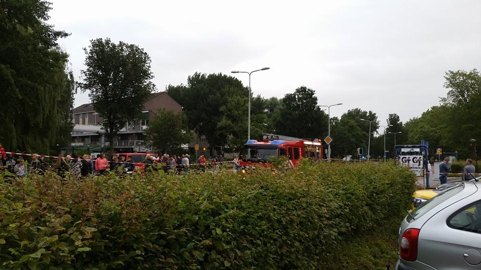 Brand in winkelcentrum Grote Beer in Hoorn (updates+fotos)