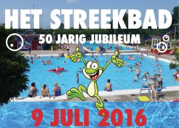 50 jarig jubileum Streekbad Hoogkarspel groots gevierd