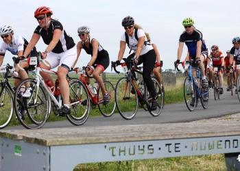 Zomers weer voor fietstocht Ronde van de Westfriese Omringdijk