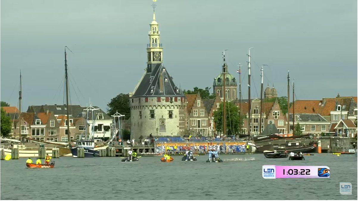Live beelden EK Open Water Zwemmen Hoorn