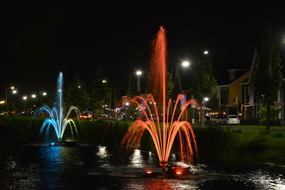 Derde editie lichtjesavond in Bangert en Oosterpolder in Zwaag